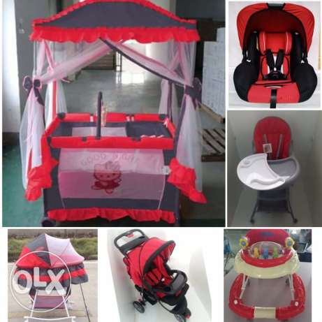 baby stuff 6 pieces for 270$