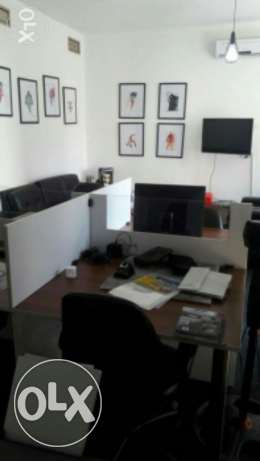 Office for Rent-MarTakla street-->Itihad crossing-Bouchrieh-Jdaideh-Bt