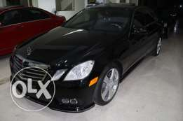 E class 350 blk/blk leather ajnabi full