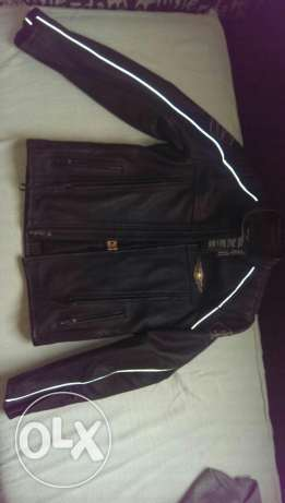 Genuine Harley Davidson 110 anniversary leather jacket