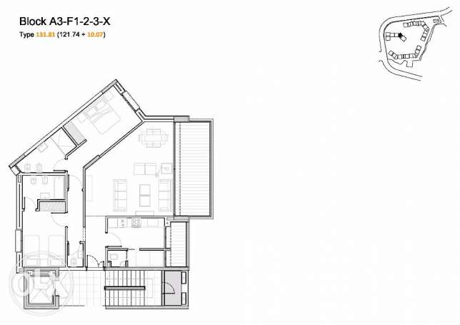Under Construction apartment for sale - Beit Mery - 132 sqm بيت مري -  8