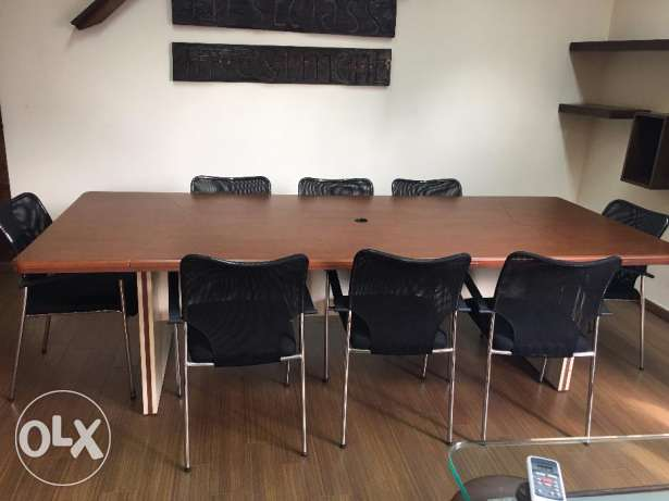 Office Furniture For Sale Due to Travel