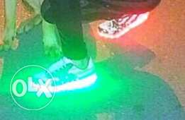 Led shoes for sale ..size : 39 excellent condition with charge