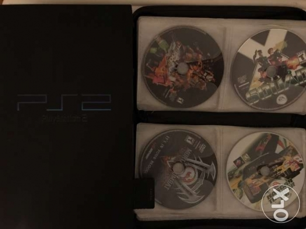 PS2 + 70 Game Very good condition