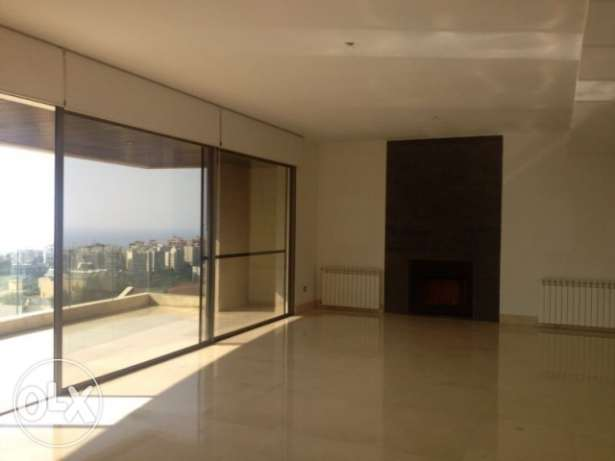 For Rent in Naccache,Rabieh Area, 360sqm Apartment for 55,000$/year