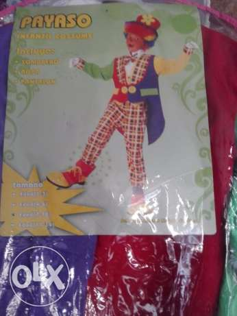 kids clown costume with hat