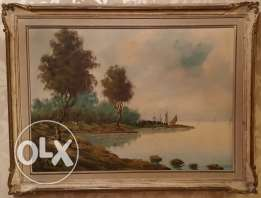 Old vintage paintings