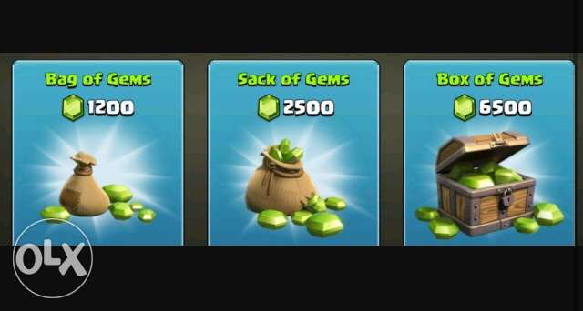 recharge cards and tickets for clash of clans gems
