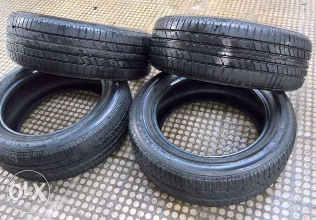 205 55 R16 Brigestone turanza For DRIFT