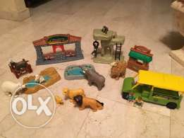 Woodland wildlife Zoo 19 pcs.