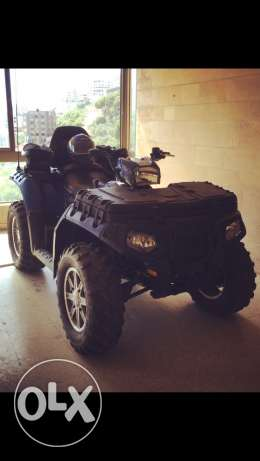 Polaris model 2010 touring 850cc with a brand new 2013 engine