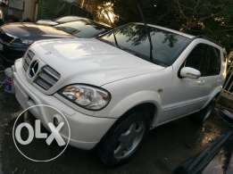 Mercedes ML 320 model 1998 look 2002 AMG