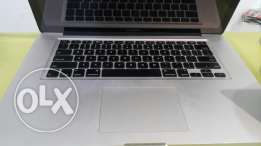 Macbook-i7 pro 15 screen 8g ram 500g trades accepted warranty