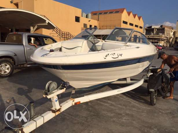 1998 bayliner with trailer , by3 aw dkishe 3ala sayara