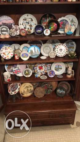 decoration plates from all over the world