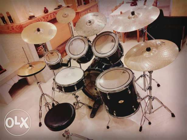 TAMA swingstar full drum set