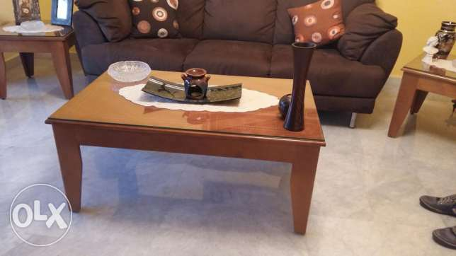 3 coffee tables set غدير -  1