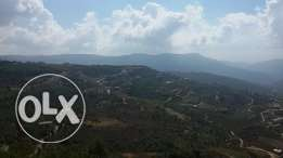 Land for sale in Kfarnis with open view