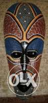 wooden mask made in africa