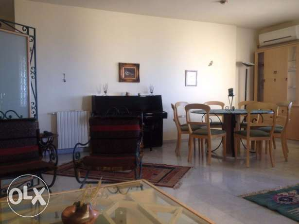 Very Beautiful Furnished apartment for rent in Bellevue Mtayleb