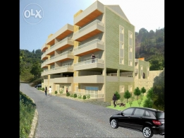 new appartments ashkout 103m2+ 18m2 garden sanad akhdar 105000$