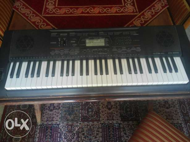 Casio CTK 3000 usb 5 octave touch piano