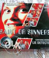 saints and sinners game + lie detector