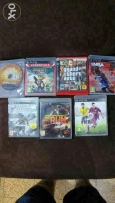 7 cds for play station 3 good price