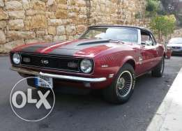 Chevrolet Camaro ss 350 convertible 1968 for sale