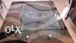 CURVED GLASS Middle table