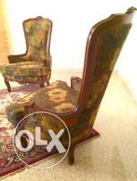 2 antique fauteuils perfect condition