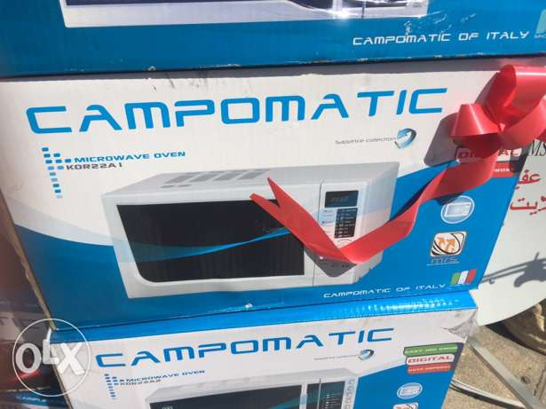microwave campomatic 22 liters NEW