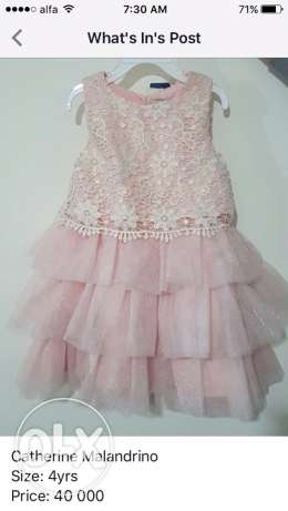 Catherine Malandrino dress, size: 4yrs