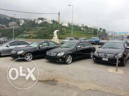 Mercedes benz c class look AMG brand new full options