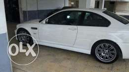 White & black m3 germany specs - lebanese company -excellent condition