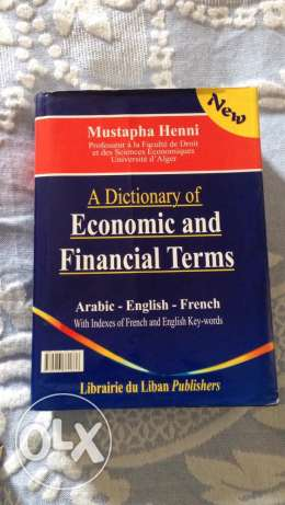 A Dictionary of Economic and Financial Terms