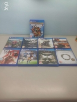 PS4 games all for 150$ SPECIAL OFFER
