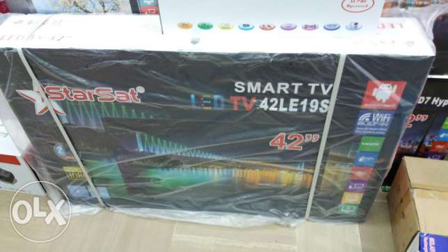 STARSAT 42smart led hdعرض خاص280$