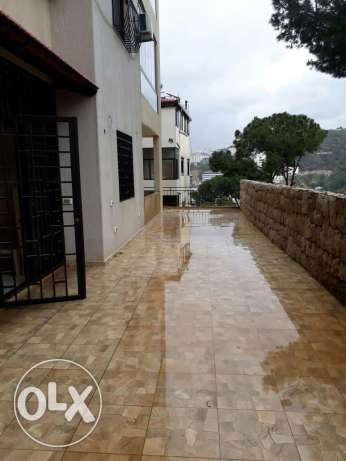 Apartment for sale fully decorated 118m+70m2 terrase+ cave