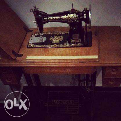 Vintage 'mercedes' sewing machine for sale