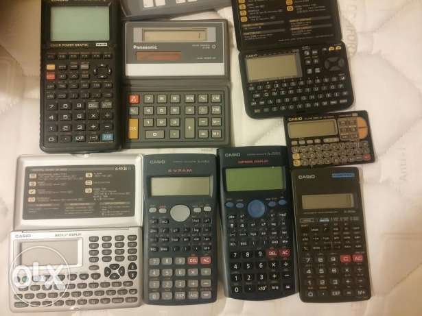 Collection of Calculators مصطبة -  1