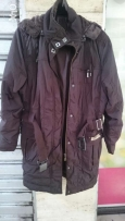 Trench Coat Anorak size XL can fit in L. جاكيت ، كبوت