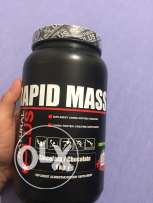 rapid mass protein shake chocolate