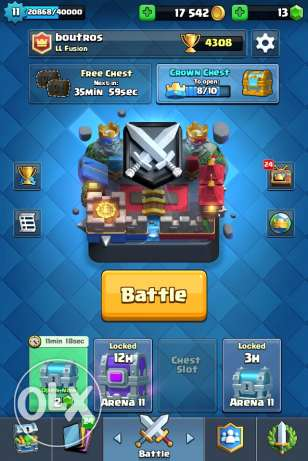 Clash Royale Level 11