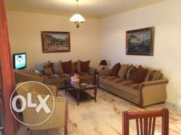 155 Sqm Fully furnished apart for sale in Baabdat with mountain view