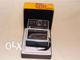 kodak ek6 vintage instant camera in box