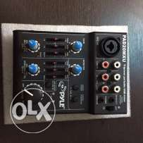 Pyle 5 Channel mixer with audio pc interface