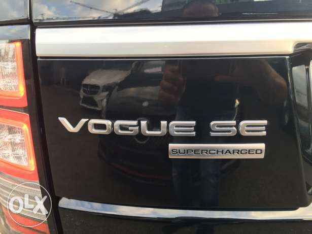 Range rover Vogue supercharged SE 2014 night blue on blue, GERMAN !!! انطلياس -  6