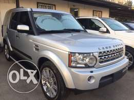 Land Rover LR4 Hse Luxury V8 Silver 2010