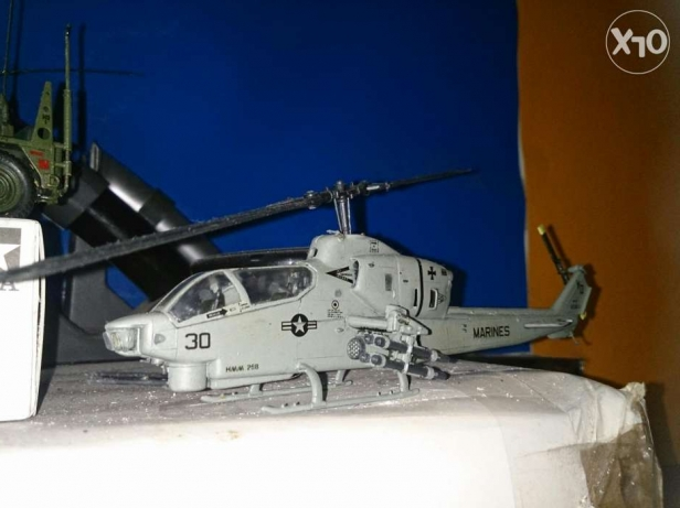 Scale plastic model 1/72